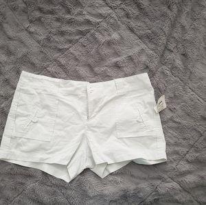 Buy 2, get 1 free...NWT Size 10, white Shorts
